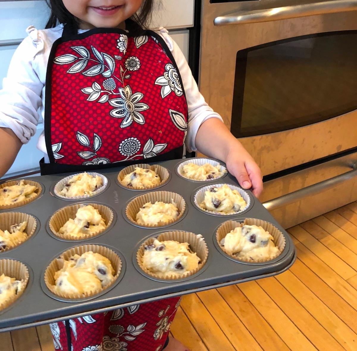 Baking With aToddler
