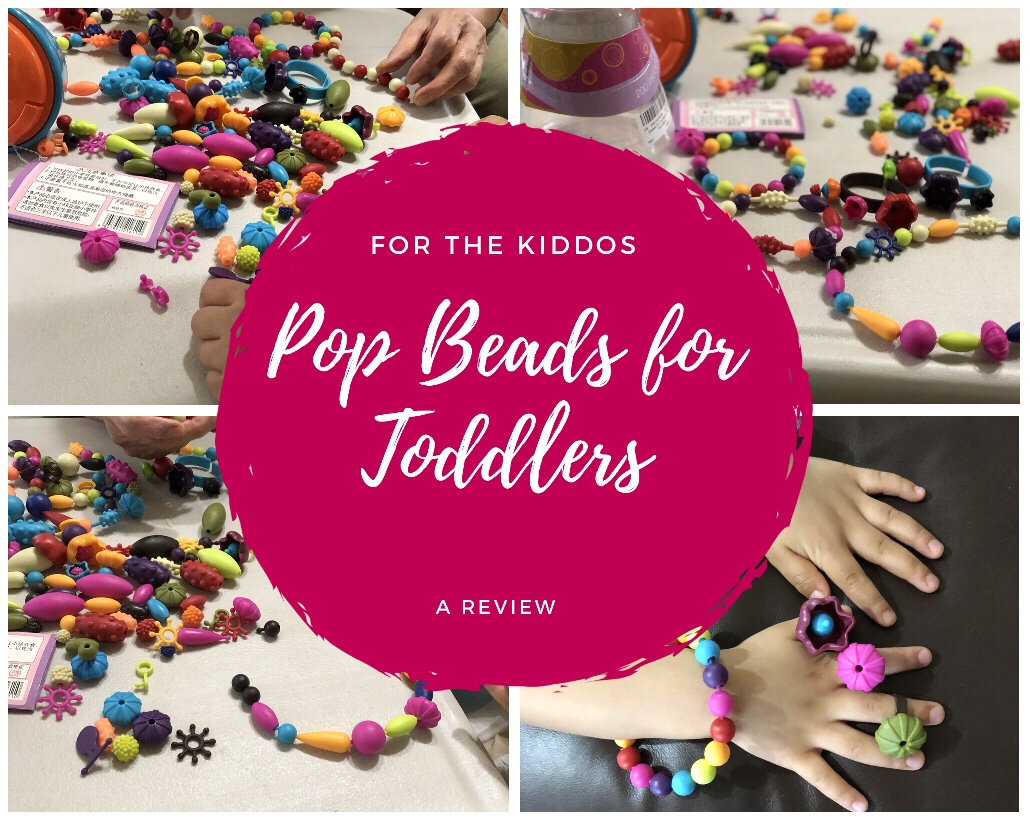 Pop Beads for Toddlers Review