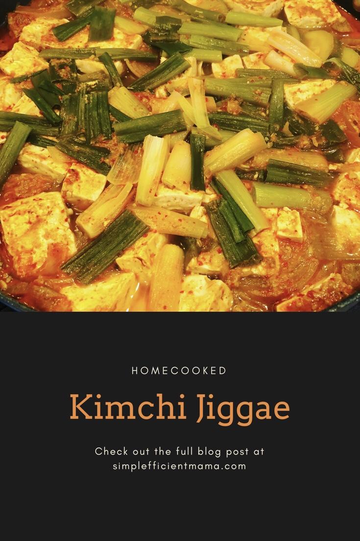 Korean Food 101: KimchiJiggae