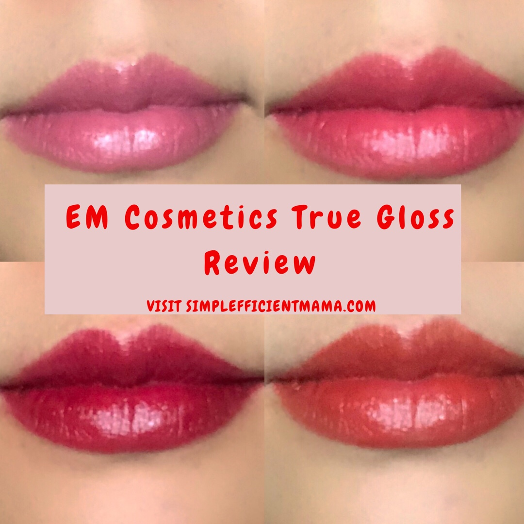 EM Cosmetics True Gloss Review