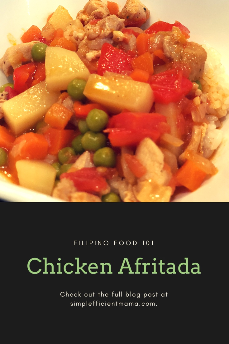 Filipino Food 101: Chicken Afritada