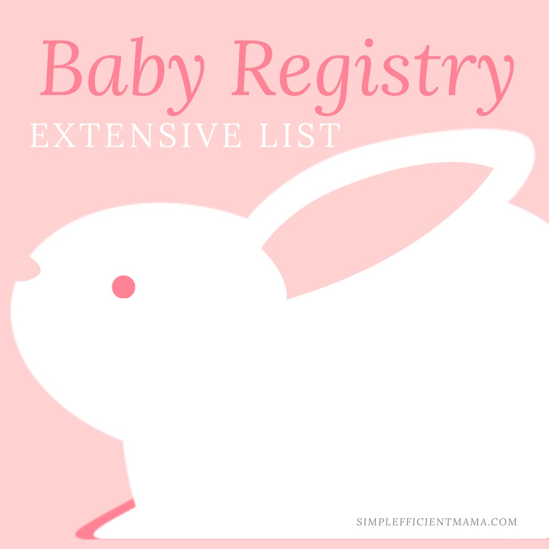 Baby Registry List Must Haves
