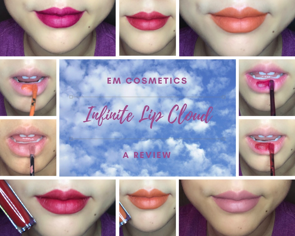 EM Cosmetics Infinite Lip Clouds Review