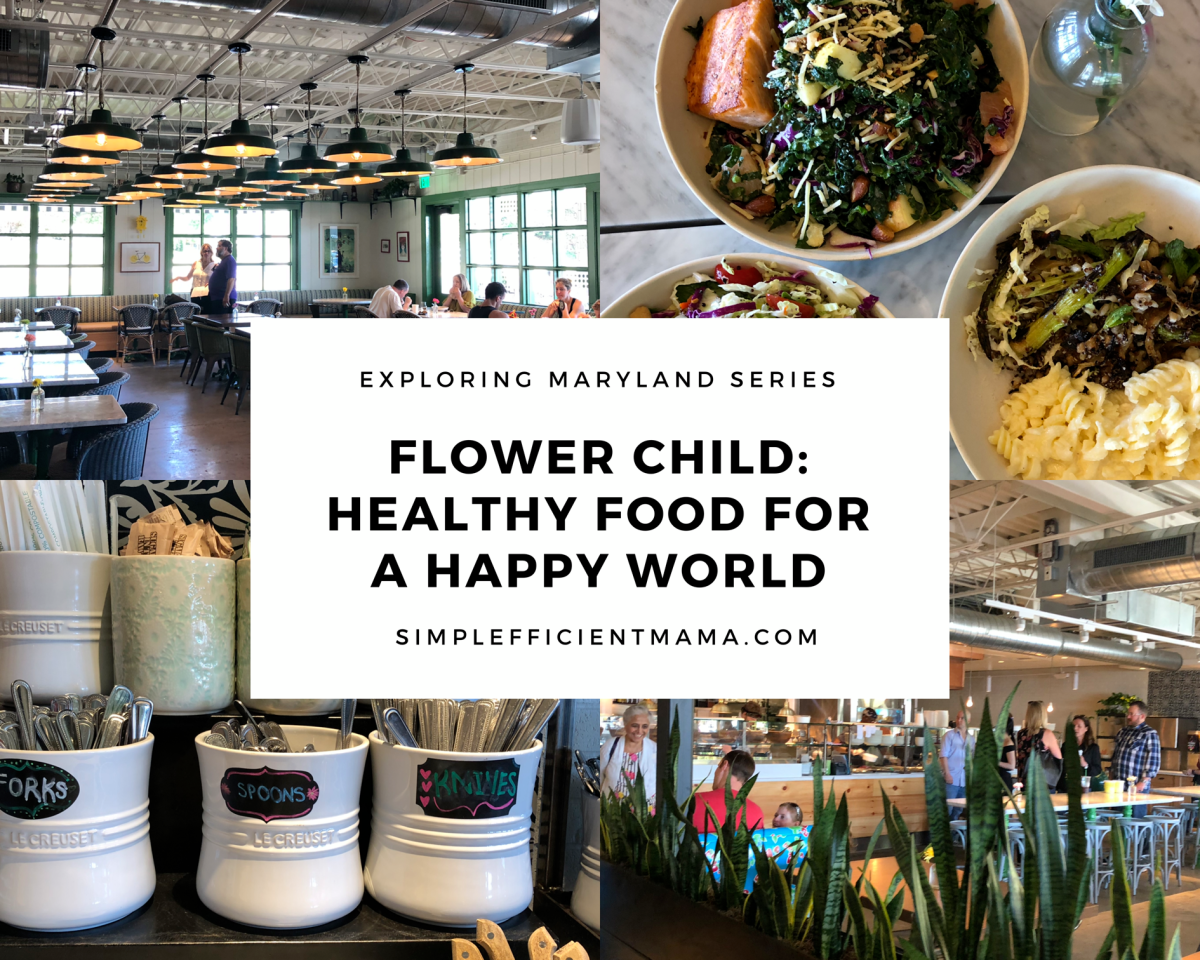 Flower Child: Healthy Food for a Happy World – ExploringMaryland