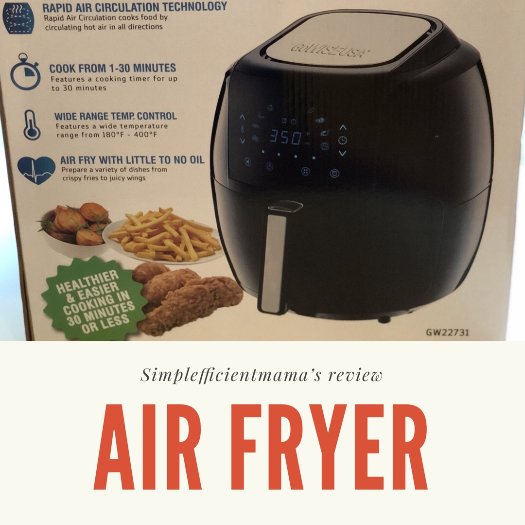To Air Fry or Not to Air Fry: An Air FryerReview