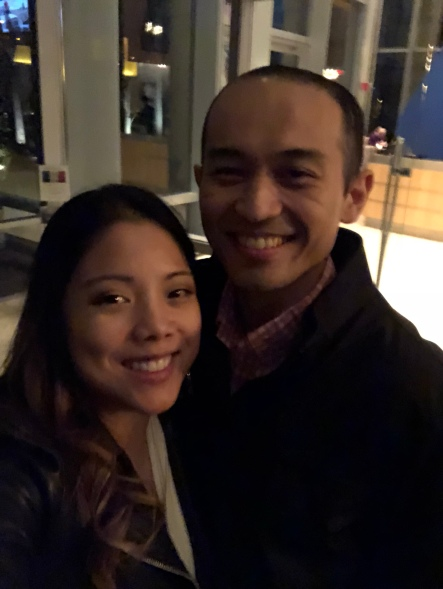 A recent date night. Keep getting to know each other =)